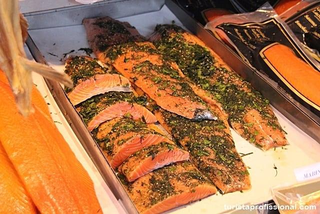 salmão defumado - Dicas da Noruega para quem vai pela primeira vez