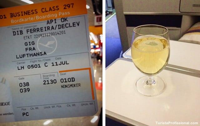 Lufthansa - Como é voar na Business Class da Lufthansa