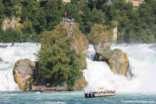 Rheinfall Wasser Suíça