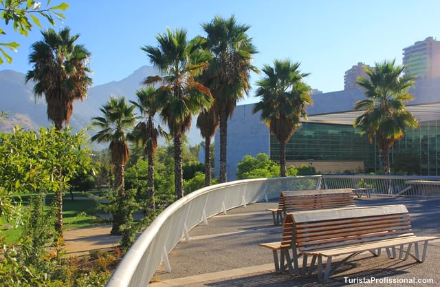 atrações turísticas1 - Parque Bicentenário, Santiago do Chile