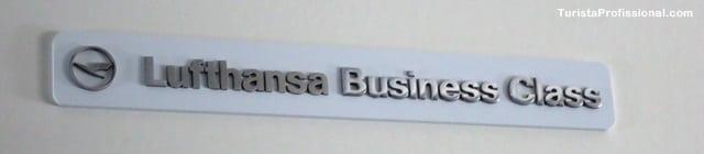 business class - Como é voar na Business Class da Lufthansa