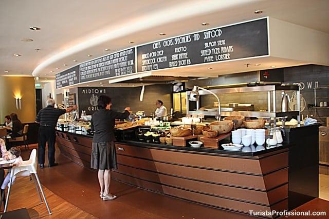 café da manhã - Dica de hotel em Amsterdam: Marriott Vondelpark