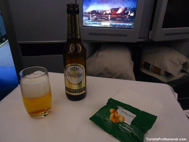 como comprar passagem de avião - Como é voar na Business Class da Lufthansa