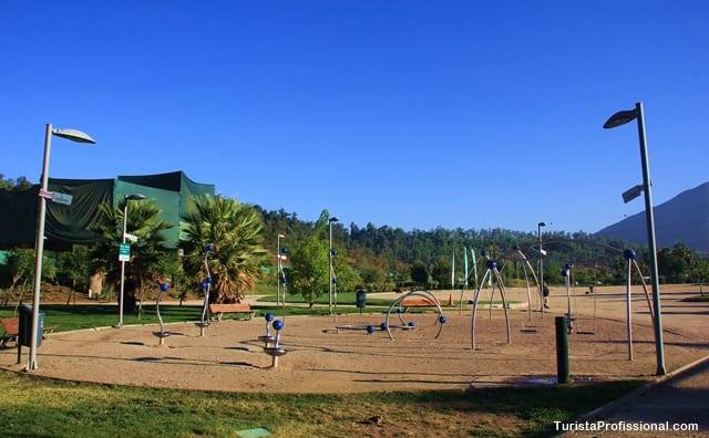 dicas do Chile - Parque Bicentenário, Santiago do Chile