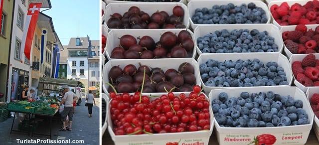 feira de orgânicos - Roteiro de 5 dias seguindo os passos dos Waldesians e Huguenotes na Alemanha e Suíça