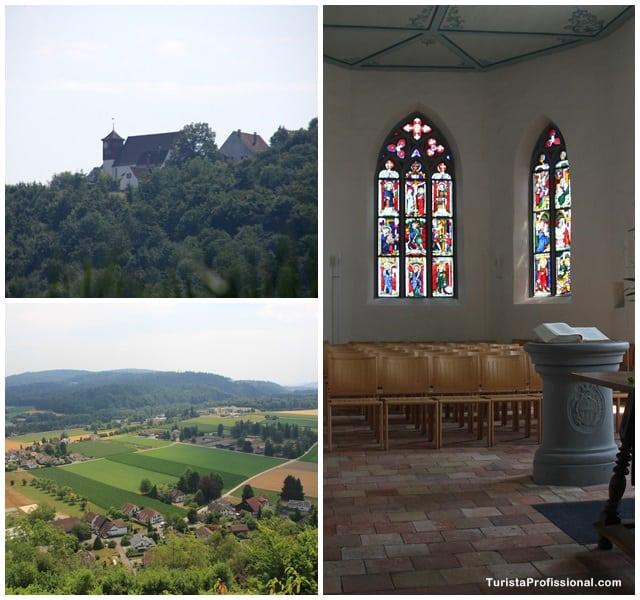 igreja Lenzburg - Roteiro de 5 dias seguindo os passos dos Waldesians e Huguenotes na Alemanha e Suíça