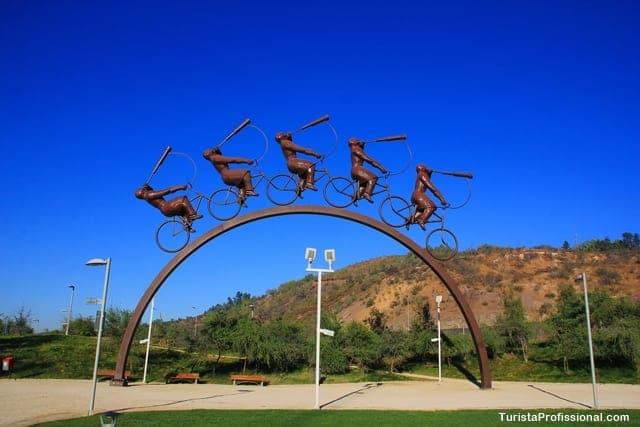 o que fazer em Santiago - Parque Bicentenário, Santiago do Chile