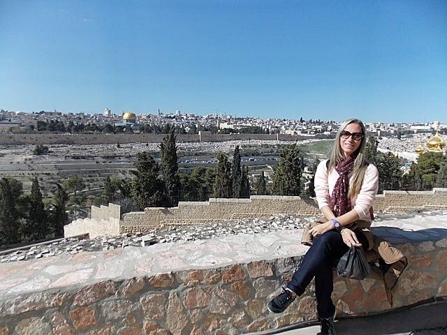 o que fazer em jerusalém - Monte das Oliveiras em Jerusalém