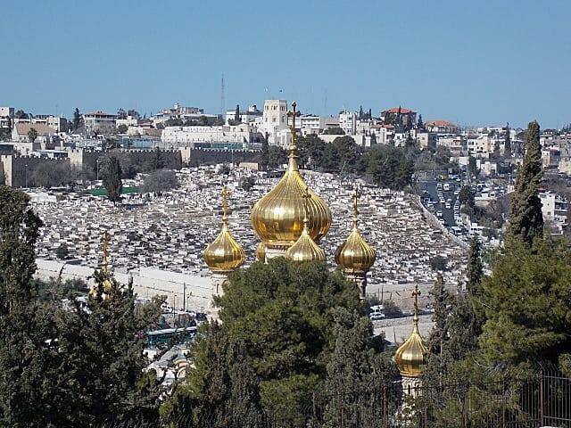 o que visitar em jerusalém - Monte das Oliveiras em Jerusalém