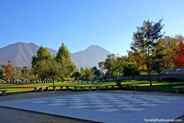 onde passear em Santiago - Parque Bicentenário, Santiago do Chile