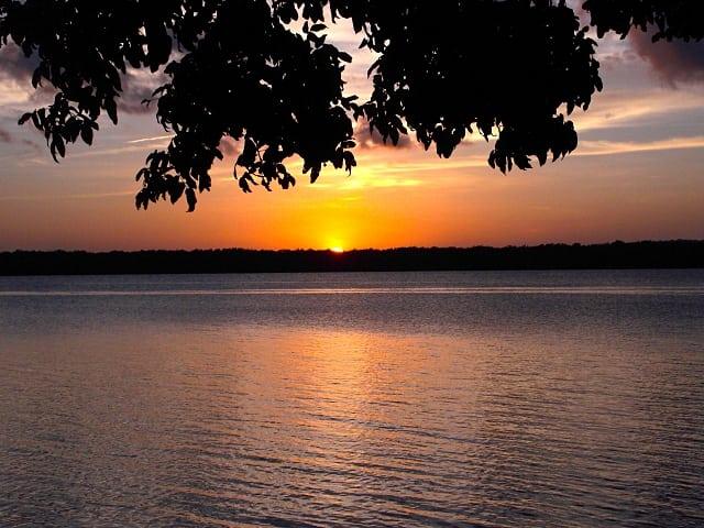 pôr do sol nordeste