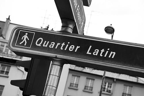 quartier latin - Roteiro pelo Quartier Latin de Paris