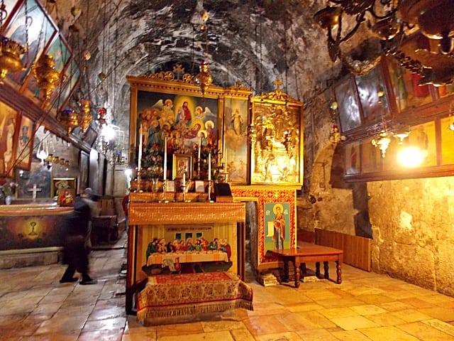 túmulo de maria - Monte das Oliveiras em Jerusalém