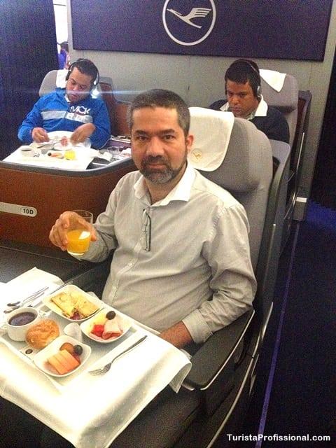 turista profissional1 - Como é voar na Business Class da Lufthansa