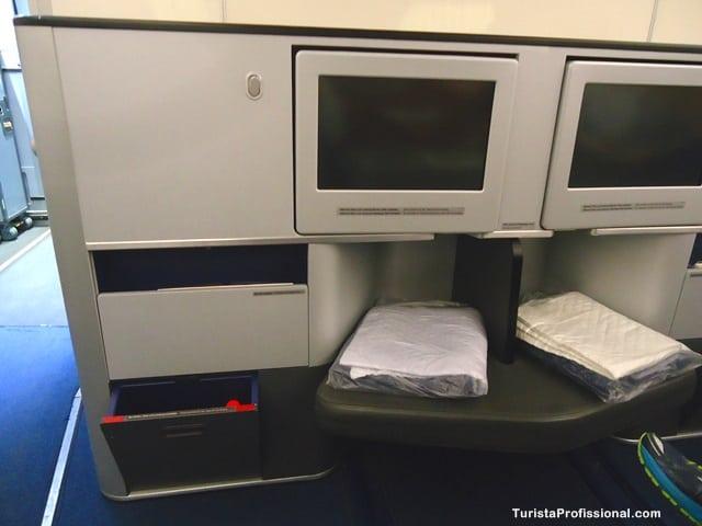 voo da Lufthansa - Como é voar na Business Class da Lufthansa
