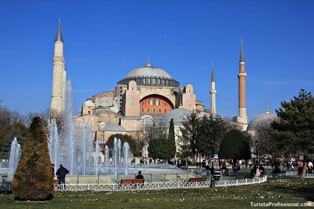 Santa Sofia Istambul - Visitando a Basílica Santa Sofia em Istambul