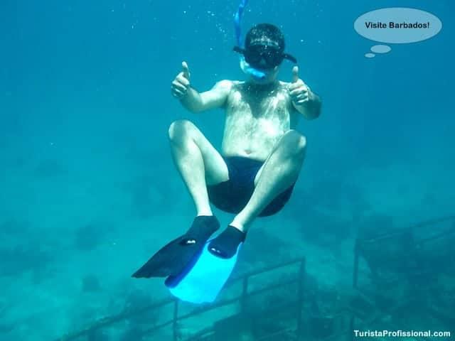 Turista Profissinal - Passeio de barco em Barbados