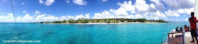 atrações do Caribe - Passeio de barco em Barbados