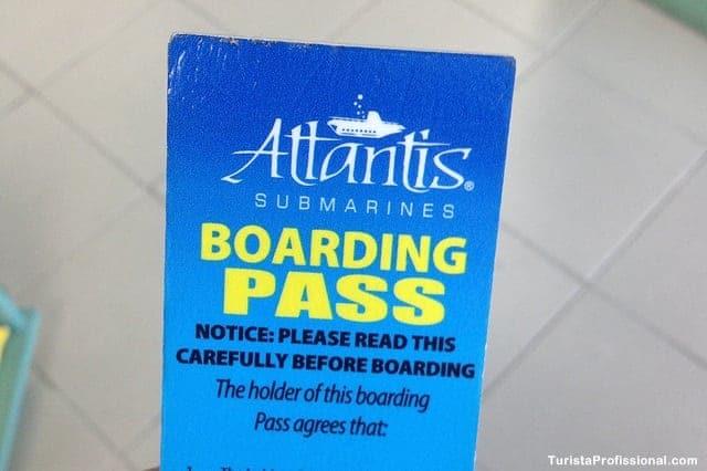 dica de Barbados - Passeio de submarino em Barbados
