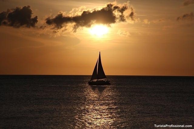 pôr do sol em Barbados