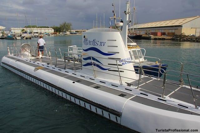 passeio em Barbados - Passeio de submarino em Barbados