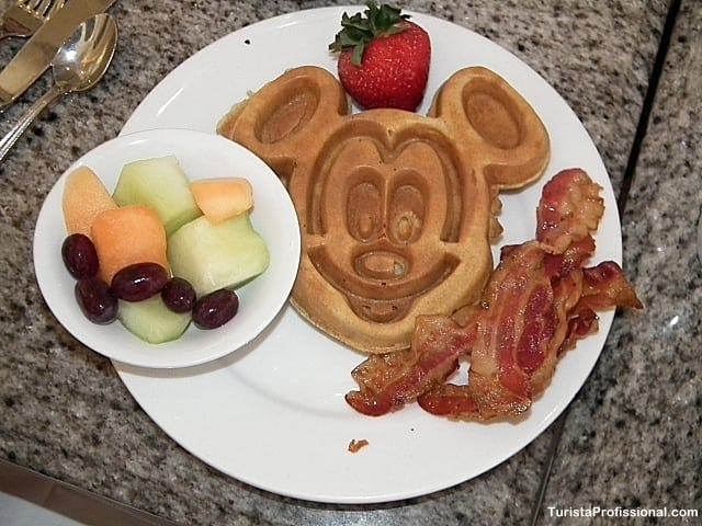 café da manhã na disney - Viagem a Orlando: como economizar
