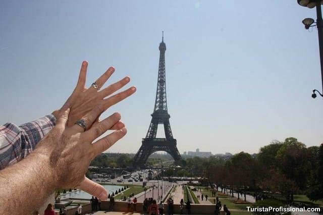 como chegar na torre eiffel - Roteiro de 3 dias em Paris