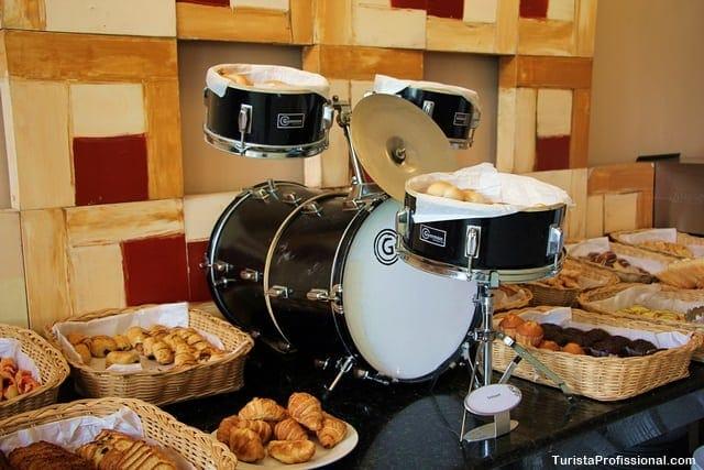 café da manhã hotel hard rock
