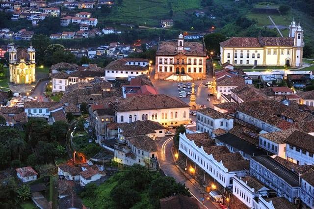 cidades históricas de Minas Gerias - Como chegar a Ouro Preto