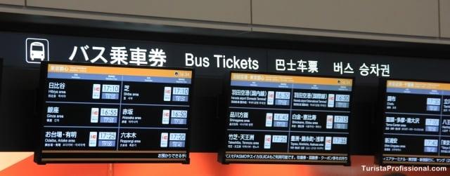 dicas do japão - Como ir do aeroporto até o centro de Tóquio