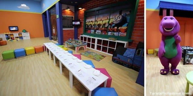 espaço infantil
