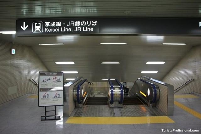 metrô de tóquio - Como ir do aeroporto até o centro de Tóquio