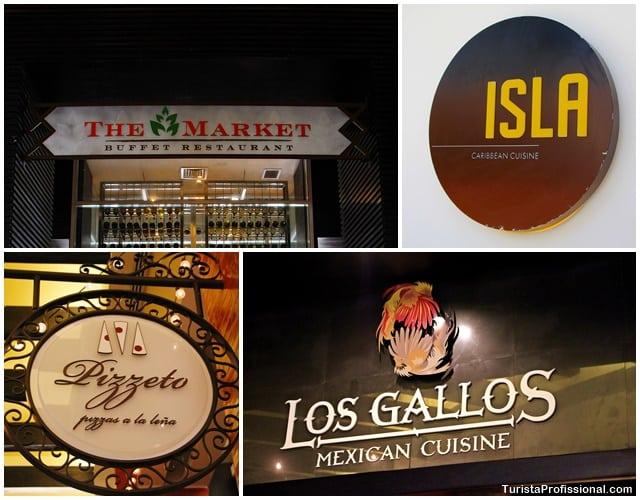onde comer em Punta Cana