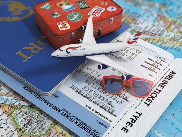 planejar viagem de avião