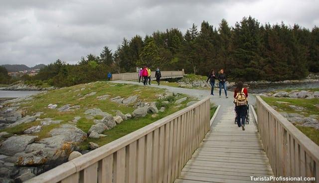 turista profissional - Festival Viking em Haugesund, Noruega