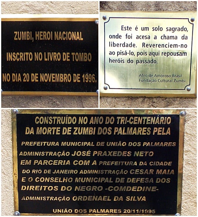 zumbi - Quilombo dos Palmares