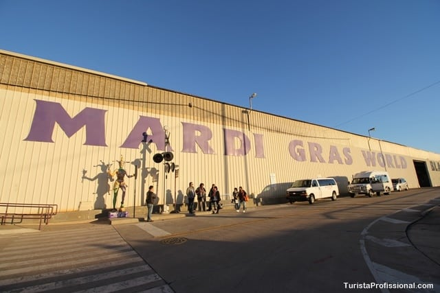 Mardi Gras World - Mardi Gras World - O mundo do Carnaval de New Orleans