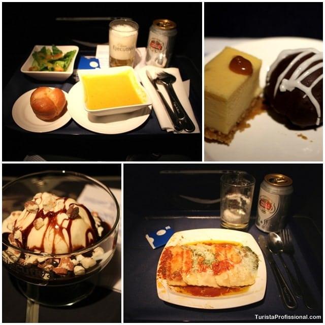 comida copa airlines - Como é voar na Classe Executiva da Copa Airlines