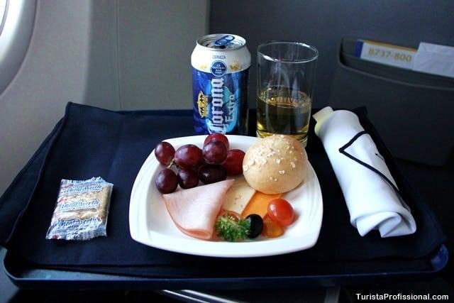 comida da classe executiva - Como é voar na Classe Executiva da Copa Airlines
