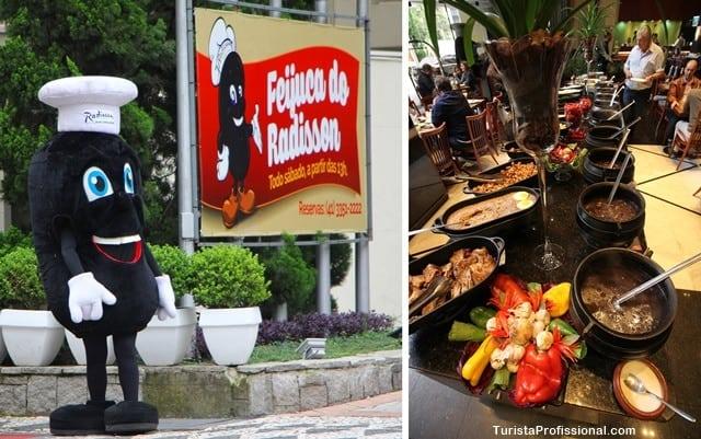 feijoada - Dica de hotel em Curitiba: Radisson