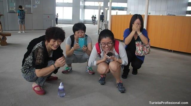 Tóquio com crianças