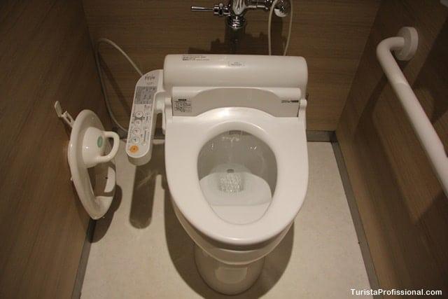 banheiros no Japão