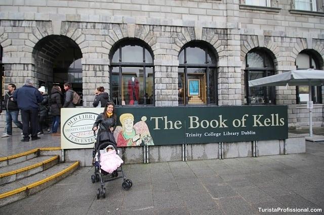 book of kells na Trinity College
