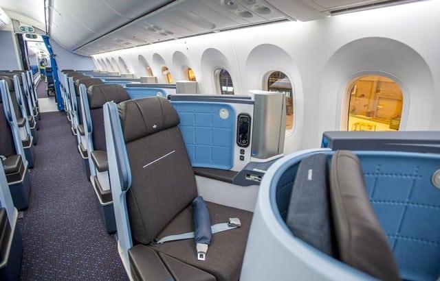 classe executiva klm - Como é voar no Boeing 787-9 Dreamliner da KLM