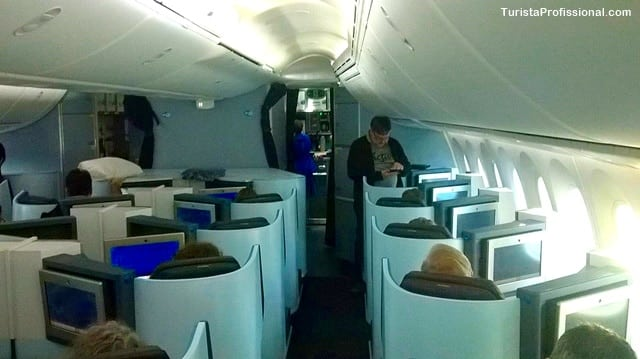 como é voar na classe executiva - Como é voar no Boeing 787-9 Dreamliner da KLM