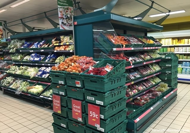 dicas de dublin - Compras de supermercado em Dublin