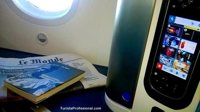 dicas de viagem - Como é voar no Boeing 787-9 Dreamliner da KLM