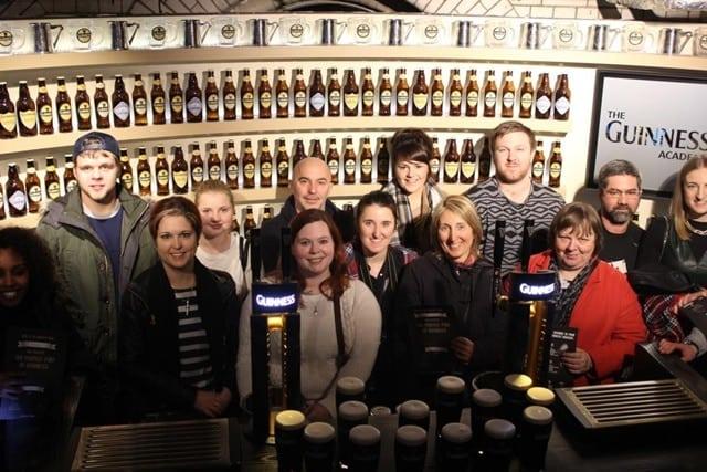 guinness factory - Fábrica da Guinness em Dublin