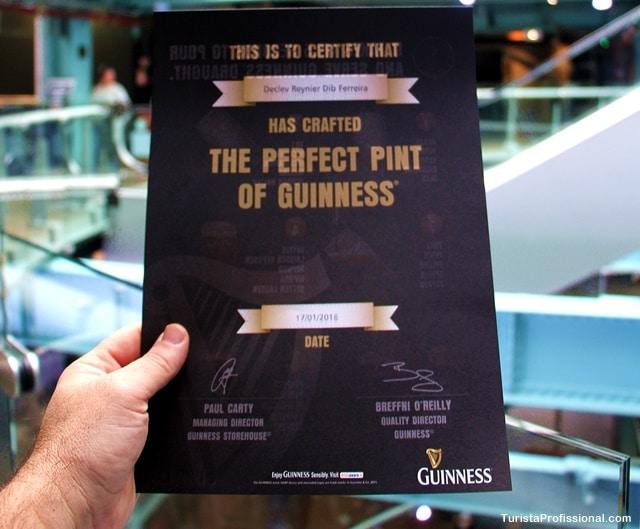 mestre cervejeiro - Fábrica da Guinness em Dublin