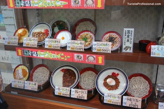 o que comer em tóquio